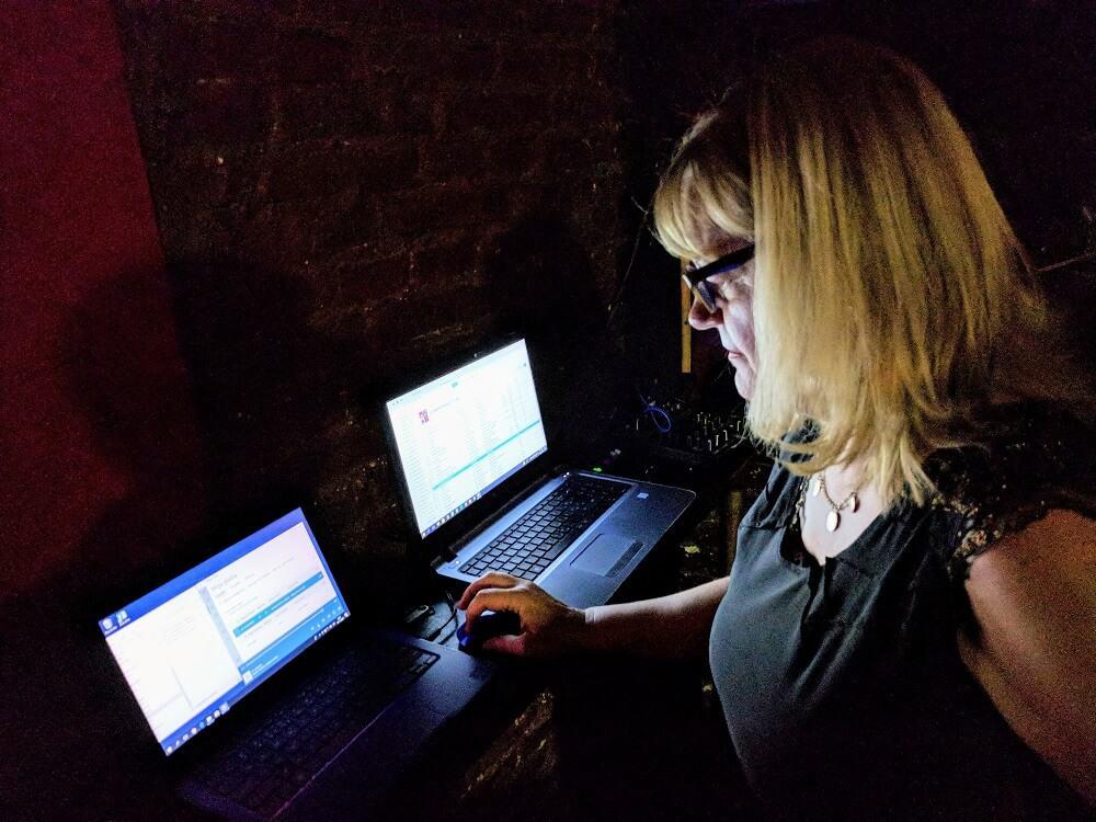 Tango-DJ-Alenka-DJ-ing-at-Maldita-Milonga-in-Buenos-Aires